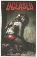 DC DCeased #1 Harley Quinn Zombie Trade Dress Signed by Jeehyung Lee NM-