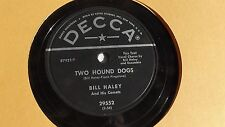 Bill Haley - 78rpm single 10-inch – Decca #29552 Razzle Dazzle