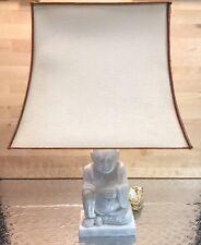 Lampe Albâtre Bouddha Années 70' Deco Zen Vintage