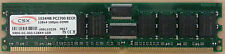 CSX 1 GB di memoria DDR pc2700 (168 pin DIMM)