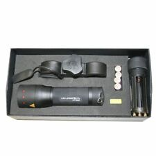 LED Lenser P7 Torch with  mounting kit with FREE COLOUR FILTERS