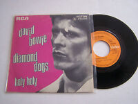 SP 2 TITRES VINYL 45 T , DAVID BOWIE , DIAMOND DOGS , VICTOR 0293 .