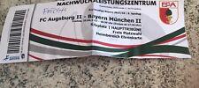 Sammlerticket FC Augsburg II - FC Bayern München II Regionalliga Bayern