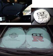 For Nissan Front Rear Car Window Foldable Sun Shade Shield Cover Visor UV Block