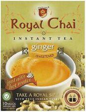 Royal Chai - Thé indien au gingembre - instantané - sucré