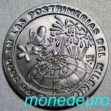 C UBA 1 PESO 1998 HISTORIA EXPOSICIONES UNIVERSALES POSTRIMERIAS DEL MILENIO UNC