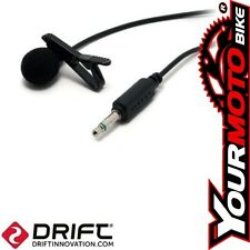 Drift Ghost-S HD Mic Action Camera 3.5mm Genuine External Audio Microphone
