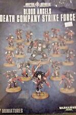 WH40K BLOOD ANGELS DEATH COMPANY STRIKE FORCE incl:Dreadnought, Chaplain, 15 men