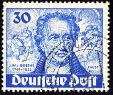 Allemagne Berlin n°53 oblit. cote Y&T 2011 60€  Bicent. naissance de Goethe