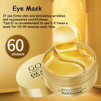 Gold Hydrogel Eye Patches Collagen Eye Mask for Puffy Dry Eyes Dark Circles US