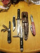 Lot Of Vintage  Knives