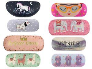 Hard Glasses case Variety sunglasses reading unicorn dog Adventure Llama Kids
