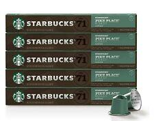Starbucks Nespresso Pike Place Roast 50-ct Single Serve Capsules