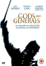 GODS AND GENERALS - DVD - REGION 2 UK
