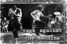 Rage Against the Machine Poster 24 x 36 Rock Alt Music Memorabilia Band Print