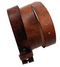 Western Speicher Gürtel Leder Wechselgürtel braun City  85cm bis 125cm