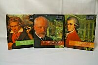Homeschool Curriculum - Classic Composers - 3 cd disc + Biography with TESTS