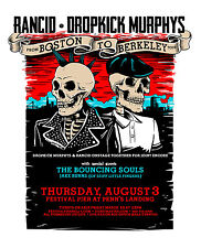 Rancid /Dropkick Murphys 2017 Philadelphia Concert Tour Poster-Celtic Punk Music