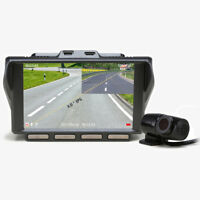 "Z-edge 4"" IPS Dual Cameras HD 1440P Front & 1080P Rear Dash Cam 150° Wide Angle"