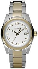 New DKNY Two Tone Steel Date Men Dress Watch 41mm NY4988 $155