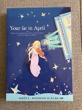 YOUR LIE IN APRIL PARTE 2 - 3 DVD - 11 EPS - DE 12 A 22 - 250 MIN SELECTA VISION