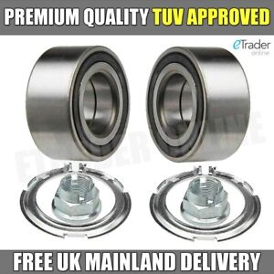 Vauxhall Vivaro Front Wheel Bearings Kit  2001-2015 NEW X2 Bearing PAIR