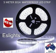 5M SMD 3014 FLEXIBLE 12V WATERPROOF LED STRIP LIGHT KITCHEN DISPLAY CABINETS