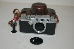 Nicca-3F RARE Vintage 1956 Japanese Rangefinder Camera & Case. 90105. UK Sale