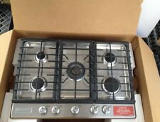 "KitchenAid 30"" 5-Burner Gas Cooktop Stainless Steel KCG550ESS Display FREE SHIP"