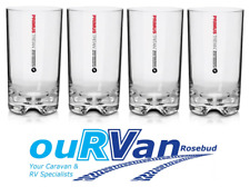 4 x PRIMUS TRITAN HIGHBALL TUMBLER CUP GLASS 415ML PRIT415