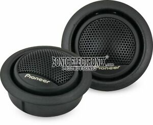 """Pioneer TS-T15 3/4"""" Styrene Rubber Polyester Soft Dome Car Audio Tweeters"""
