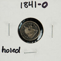 1841-O H10c Seated Liberty Half Dime - Key Date Coin - High-Grade Details  -X489