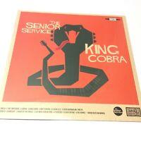The Senior Service 'King Cobra' 2018 UK Vinyl LP NEW SEALED Garage Rock LP! Nice