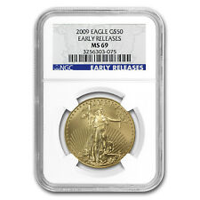 2009 1 oz Gold American Eagle MS-69 NGC (Early Releases)
