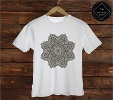 Short Sleeve Geometric T-Shirts for Men