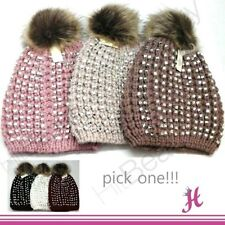 a6a6610c085026 Fur Beanie Hats for Women for sale | eBay