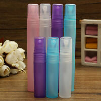 5ml/10ml Spray Bottles Perfume Empty Atomizer Plastic Travel Mini Refillable