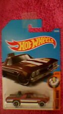 Hot Wheels - US Card - #216 '68 El Camino - Metallic Red