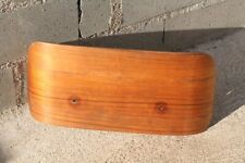 Eames Herman Miller Lounge chair headrest wood panel rosewood vintage