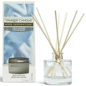 Yankee Candle Reed Diffuser - Home Inspiration - Fragrance - 88ml - Soft Cotton