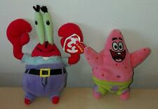 Lotto Peluche spongebob 10 cm pupazzi patrick e mr krabs squarepants plush toys