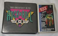 Rock N Roll Hall Of Fame 100 Greatest Hits Classic Golden Oldies Cassettes