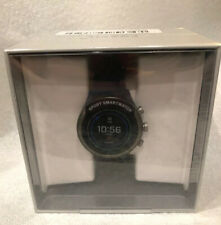 Fossil Men's Sport Metal and Silicone Touch (DW9F2) – WearOS New! Smoke/Blue