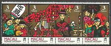 Macau - Chinesische Hochzeit Viererstreifen Satz postfrisch 1993 Mi. 721-724
