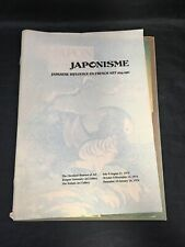 Japonisme Japanese Influence on French Art 1975 Exhibition Brochure