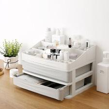 Cajón de Almacenamiento de Plástico de cosméticos de Maquillaje Caja Organizador diversos Escritorio Con Cajón
