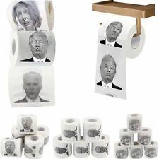 1 Roll Toilet Paper Trump/ Biden/ Nancy Roll Paper Funny Novelty Gag Party Gift