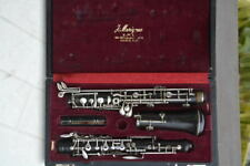 STRASSER MARIGAUX SML PARIS WOOD OBOE, NO CRACK, READY TO PLAY, original case