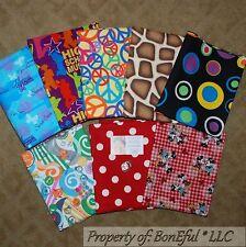 BonEful Fabric COTTON QUILT LOT Scrap BOX Disney Giraffe Print Animal Rainbow US