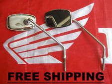 Honda C50 C65 C70 C90 C100 CA100 C102 C105 CM90 CM91 C200 Mirror Set  FREE SHIP.